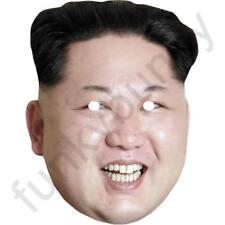 Kim Jong-un Version 2 - Celebrity Fun Card Mask - All Our Masks Are Pre-Cut!