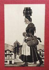 CPSM. Illustrateur Jacques LE TANNEUR. Pays Basque. Jour de Marché.