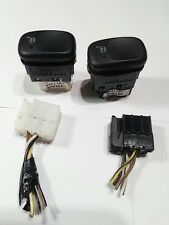 1998 Volvo S90 driver and passenger heated seat switch 9441181-2 set pair of 2