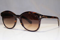 TOM FORD Mens Womens Unisex Sunglasses Brown Square NEW Riley TF 298 50F 22435