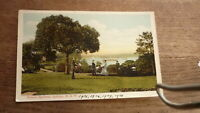 OLD AUSTRALIAN POSTCARD OF SYDNEY NSW, VIEW OF THE PALACE GARDENS c1900