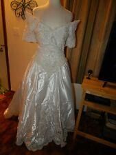 Vintage Morilee Beaded Wedding Dress Size 12