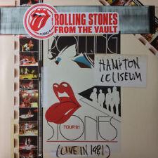 THE ROLLING STONES, HAMPTON COLISEUM (LIVE IN 1981), 3 LP + CONCERT DVD (SEALED)