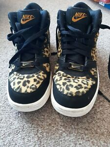 *Very Rare* 2014 Nike Air Prize 2. UK SIZE 4 LEOPARD