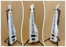 Haze SEG-217WH Solid Poplar Body Electric LAP Steel Guitar w/Slide Bar+Gig Bag
