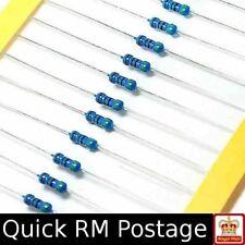 Metal Film Resistors 0.25W 1/4W ±1% from 1 Ohm to 1M Ohms 25pcs 54 Values 25 pcs