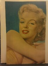 Amazing Vintage Color Marilyn Monroe Magazine Clipping Beautiful!