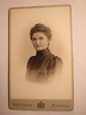 Augsburg - Marie Kneißl / Kneissl aus Pleiskirchen ? im August 1901 / CDV