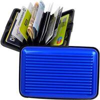FABRIZIO Aluminium Karten Börse EC-Kartenetui Kreditkartenetui Portemonnaie RFID