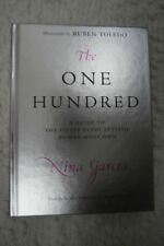 THE ONE HUNDRED by Nina Garcia hardcover fashion book 2008 NEW