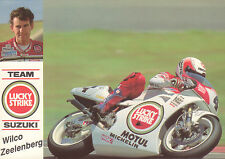 PHOTOCARD WILCO ZEELENBERG SUZUKI MOTO GP