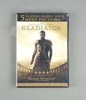 Gladiator (DVD, 2013) Russell Crowe, Joaquin Phoenix, Ridley Scott - SEALED