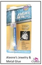 ALEENE'S JEWELRY & METAL Permanent Adhesive Rhinestone Glue Craft ALEENES