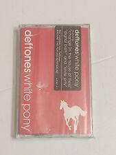 New Tape! Deftones -White Pony (2000, Maverick) Red Cover.*Cracked case. Sealed