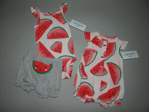 NWT, Baby girl clothes, 6 months, Carter's 3 piece set ~SEE DETAILS ON SIZE/SALE