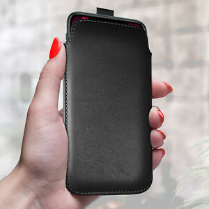 PU Leather Pull Tab Flip Case Cover Pouch For Various Nokia Small Phones