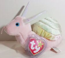 "TY Beanie Babies ""SWIRLY"" the SNAIL - MWMTs! RETIRED! CHECK OUT MY ITEMS & SAVE!"