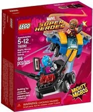 New 🧞 LEGO Mighty Micros Star-Lord Nebula Marvel Super Heroes 76090 P1
