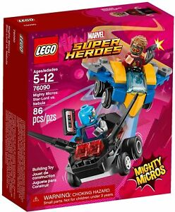LEGO 76090 Star-Lord Nebula Marvel Super Heroes Mighty Micros