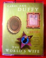 Carol Ann Duffy The World's Wife 2-Tape UNABR.Audio Bk NEW Poetry Eileen Atkins+