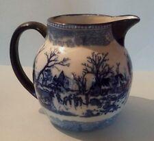 Beau pichet en céramique Delft Fin XIXème début XXème