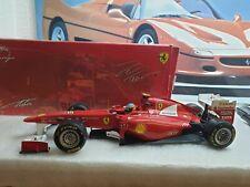 Hotwheels-Ferrari 150 Italia-Fernando Alonso-escala 1/18 modelo de coche