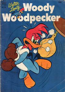 Walter Lantz WOODY WOODPECKER #405 Golden Age 1952