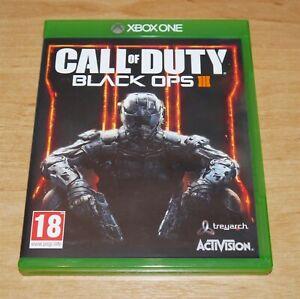 Call of duty Black ops III Game for Microsoft XBOX ONE