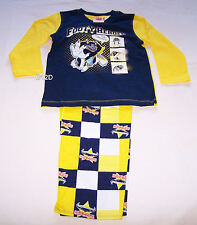 North Queensland Cowboys NRL Boys Cotton / Flannel Pyjama Set Size 3 New