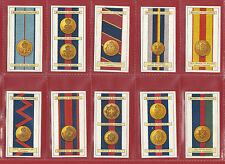 STEPHEN MITCHELL & SON - RARE SET OF 25  ARMY  RIBBONS  &  BUTTONS  CARDS - 1916