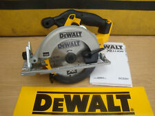 DEWALT XR 18V DCS391 CIRCULAR SAW BARE UNIT + FENCE & DUST ADAPTOR