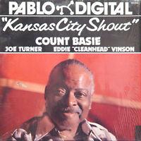 COUNT BASIE Kansas City Shout US Press Pablo D2310859 1980 Red Vinyl LP