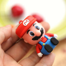 8GB Flash Drive USB 2.0 Memory Stick Bstar Cute Cartoon Mario Pen Drive Hot Sale