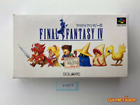 FINAL FANTASY IV 4 Nintendo Super Famicom SFC JAPAN Ref:315272