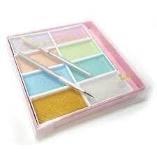 New Kissho Gansai Pigments Japanese Watercolor Paint 8 Pearl Colours Japan  F/S