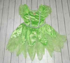 Disney Tinkerbell Dress Up Pretend Play Dress Size L 10/12