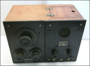 Westinghouse RCA RC RADA Tuner Amplifier Clean All Original Early 1920s