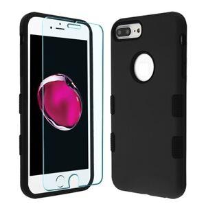 Cover Funda iPhone 8 Plus/7 Plus/6S Plus Case integrado protector de pantalla
