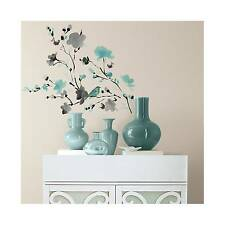 Blüten & Vogel Wasserfarbe 26 Elemente Wandtatoos RoomMates 01476