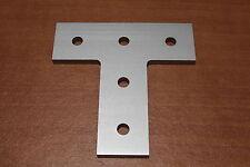 8020 T Slot Aluminum 5 Hole Tee Joining Plate 15 Series 4480 ANO E2-5