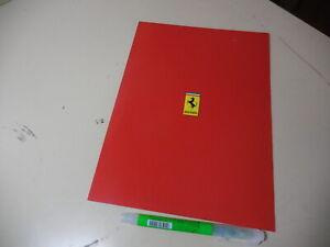 FERRARI  355 550 456 Japanese Brochure CORNES