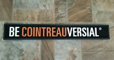 Becointreauversial Cointreau Rubber Bar Rail Mat Spill Guard Display Heavy Duty
