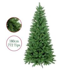Artificial Christmas Tree 6ft 180cm Duchess Spruce Hinged 772 Tips Green Xmas