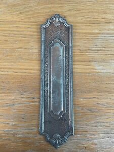 Antique Door Furniture Finger Plate