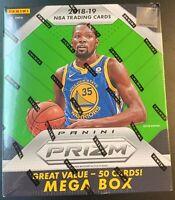 2018-19 Panini Prizm NBA Basketball Mega Box - 50 count - FACTORY SEALED! NEW!