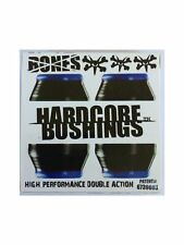 Bones Hardcore Skateboard Bushings Soft Black 81a, Two Sets