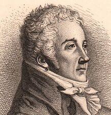 Eau-Forte Nicolas Dalayrac Muret Opéra Comique Compositeur Musique