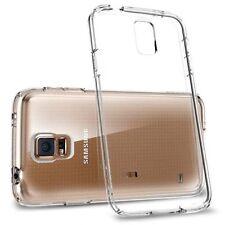 Transparent Rigid Plastic Cases for Samsung Galaxy S5