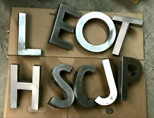 Metal Letters for Signs $8 Each See Description For Letters Available
