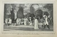 1901 Theater Plays Modern Stage Effects illustrated